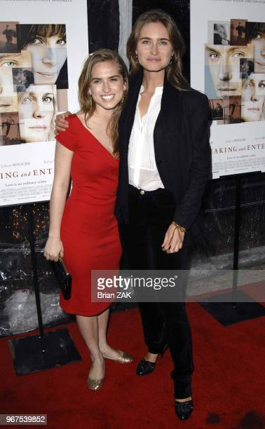 Lauren Bush and Ashley Bush arrive at the premiere of 'Breaking and Entering' held at the Paris Theater New York City BRIAN ZAK
