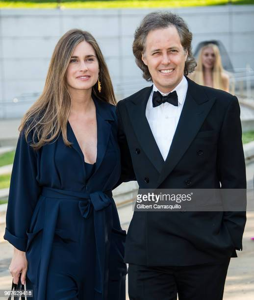 Lauren Bush and David Lauren are seen arriving to the 2018 CFDA Fashion Awards at Brooklyn Museum on June 4 2018 in New York City