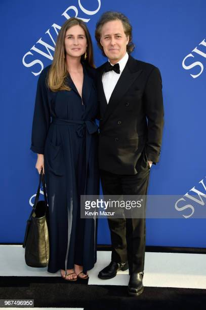 Lauren Bush and David Lauren attend the 2018 CFDA Fashion Awards at Brooklyn Museum on June 4 2018 in New York City