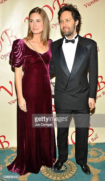 Lauren Bush and David Lauren attend the 56th annual Viennese Opera Ball at The Waldorf=Astoria on February 4 2011 in New York City