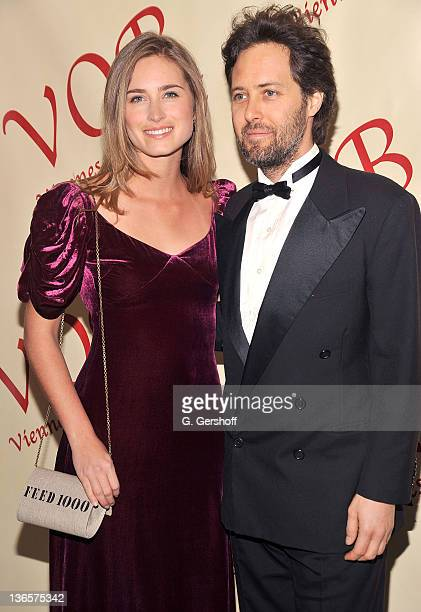 Lauren Bush and David Lauren attend the 56th annual Viennese Opera Ball at The Waldorf=Astoria on February 4, 2011 in New York City.