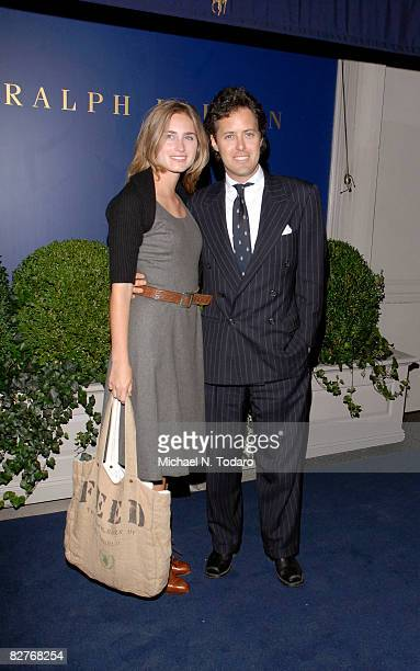 Lauren Bush and David Lauren attend the Lebron James Family Foundation Benefit for an evening of cocktails and private shopping at the Ralph Lauren...
