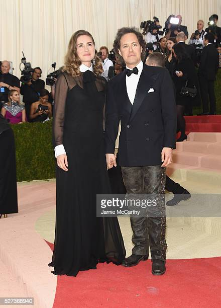 Lauren Bush and David Lauren attend the 'Manus x Machina Fashion In An Age Of Technology' Costume Institute Gala at Metropolitan Museum of Art on May...