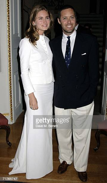 Lauren Bush And David Lauren Attend The Private Party To Celebrate Ralph Laurens Partnership With Wimbledon