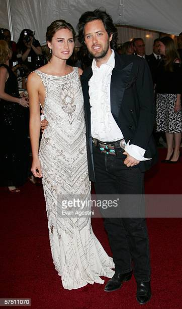 Lauren Bush and David Lauren attends the Metropolitan Museum of Art Costume Institute Benefit Gala Anglomania at the Metropolitan Museum of Art May 1...