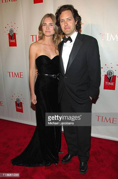 Lauren Bush and David Lauren during Time Magazine's 100 Most Influential People 2006 Inside Arrivals at Jazz at Lincoln Center in New York City New...