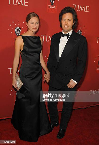 Lauren Bush and David Lauren during Time Magazine's 100 Most Influential People 2007 Red Carpet at Jazz at Lincoln Center in New York City New York...