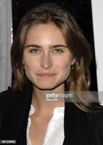 Lauren Bush arrives at the premiere of 'Breaking and Entering' held at the Paris Theater New York City BRIAN ZAK