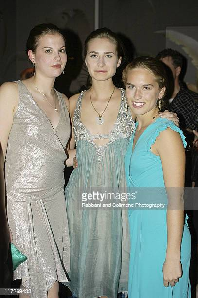 Lauren Bush Ashley Bush and guest
