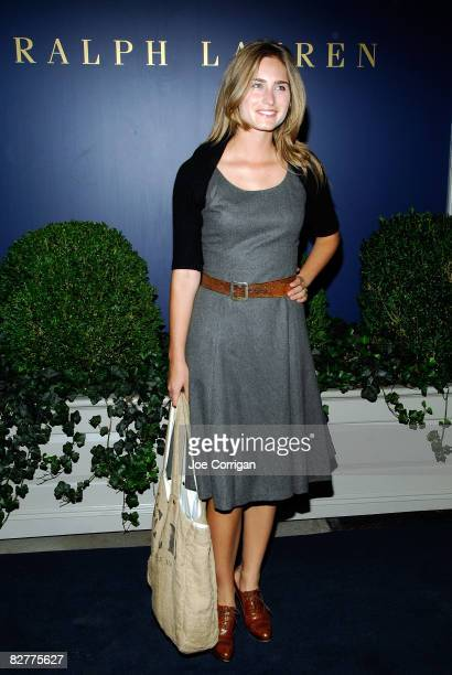 Lauren Bush attends a private cocktail party and shopping event at the Ralph Lauren Mansion on September 10, 2008 in New York City.