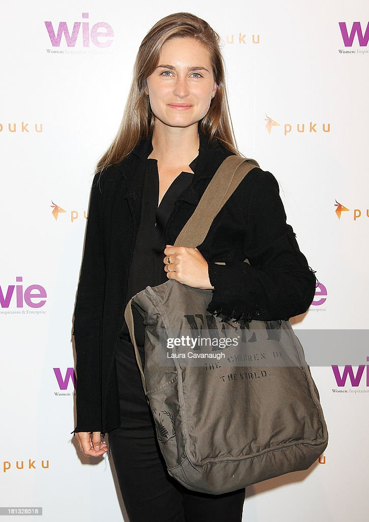 Lauren Bush attends day 1 of the 4th Annual WIE Symposium at Center 548 on September 20, 2013 in New York City.