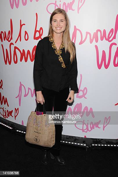 Lauren Bush attends the 3rd annual Diane Von Furstenberg awards at the United Nations on March 9 2012 in New York City