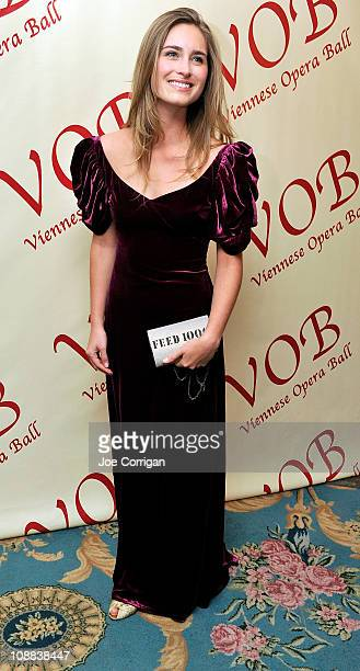 Lauren Bush attends the 56th annual Viennese Opera Ball at The Waldorf=Astoria on February 4 2011 in New York City