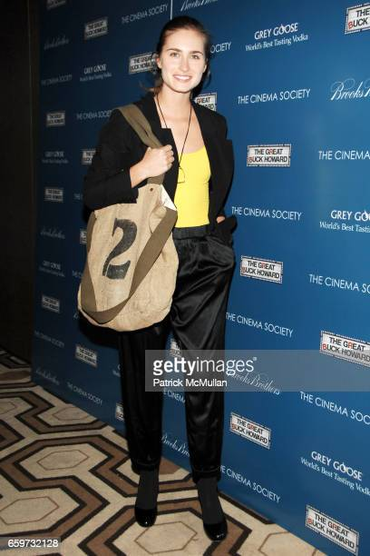 Lauren Bush attends THE CINEMA SOCIETY BROOKS BROTHERS host a screening of 'THE GREAT BUCK HOWARD' at Tribeca Grand Hotel on March 10 2009 in New...