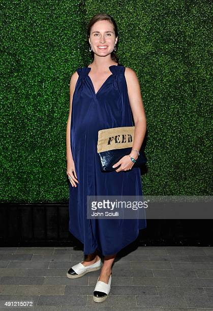 Lauren Bush CEO Creative Director and CoFounder of FEED Projects attends Feed Supper with Lauren Bush Lauren X Nathan Turner at The Westfield on...