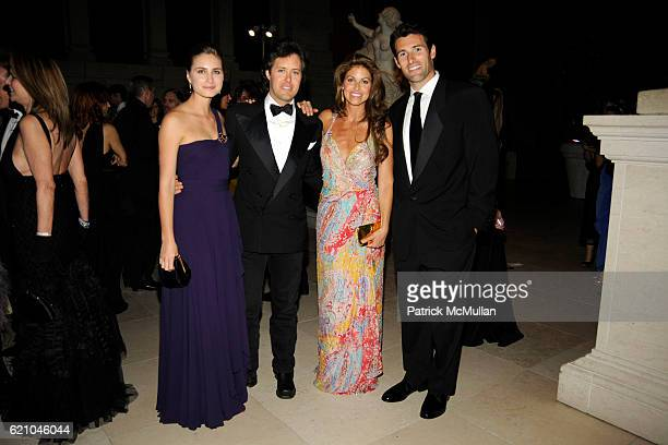 Lauren Bush David Lauren Dylan Lauren and Paul Arrouet attend THE COSTUME INSTITUTE GALA SUPERHEROES with honorary chair GIORGIO ARMANI at The...