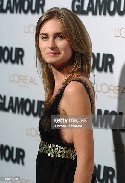 Lauren Bush during Glamour Magazine Salutes The 2005 Women of the Year Red Carpet at Avery Fisher Hall in New York City New York United States