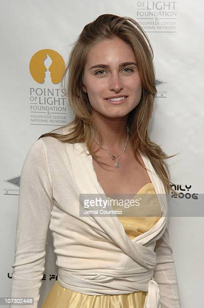 Lauren Bush during Rodney Jerkins and Robert Goodwin Host a Special Launch Party for 'We Are Family' AllStar Katrina Benefit CD and DVD at The 40/40...