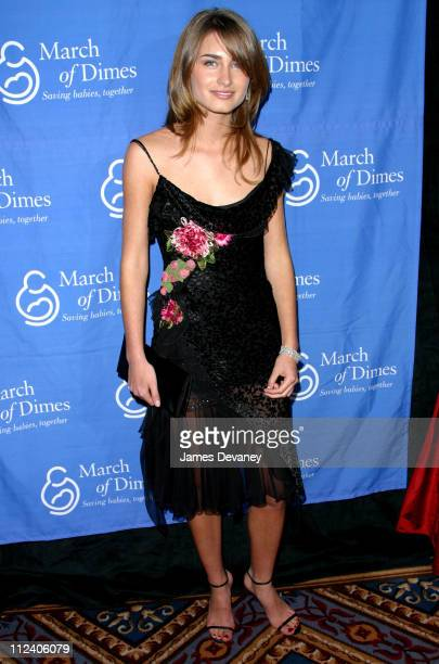 Lauren Bush during The Third Annual March Of Dimes 'Gourmet Gala Une Soiree Parisienne' at The New York Palace Hotel in New York City New York United...