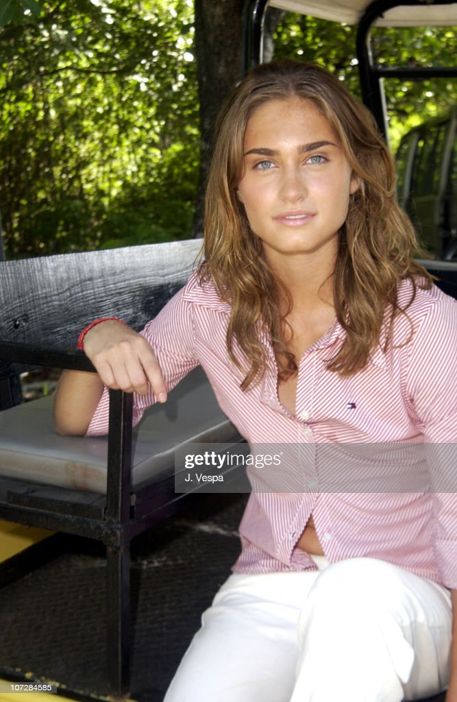 Lauren Bush during Tommy Jeans Photo Shoot in Mustique in Mustique, Bahamas.