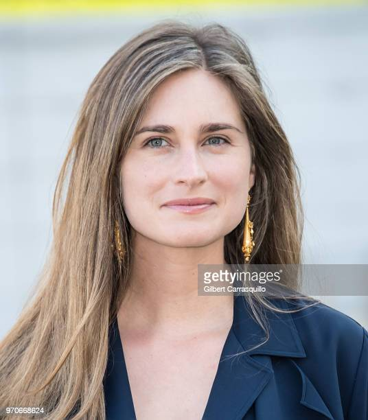 Lauren Bush is seen arriving to the 2018 CFDA Fashion Awards at Brooklyn Museum on June 4 2018 in New York City