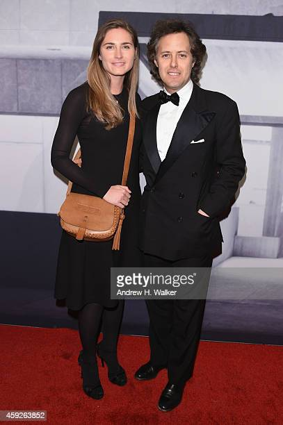 Lauren Bush Lauren and David Lauren attend the 2014 Whitney Gala presented by Louis Vuitton at The Breuer Building on November 19 2014 in New York...