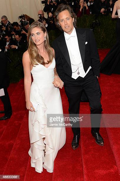 Lauren Bush Lauren and David Lauren attend the 'Charles James Beyond Fashion' Costume Institute Gala at the Metropolitan Museum of Art on May 5 2014...