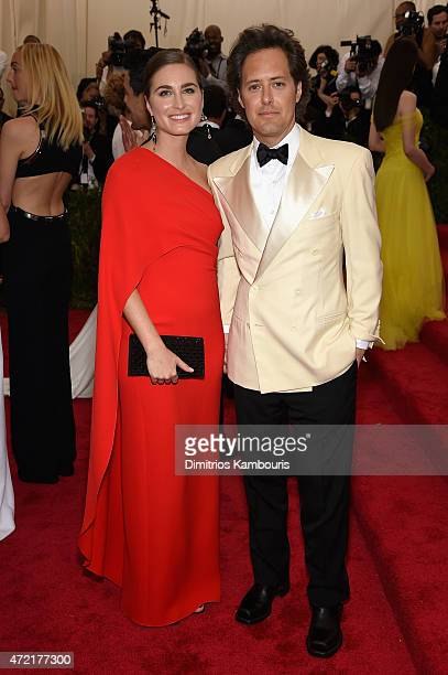 Lauren Bush Lauren and David Lauren attend the 'China Through The Looking Glass' Costume Institute Benefit Gala at the Metropolitan Museum of Art on...