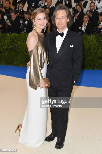 Lauren Bush Lauren and David Lauren attend the 'Rei Kawakubo/Comme des Garcons Art Of The InBetween' Costume Institute Gala at Metropolitan Museum of...