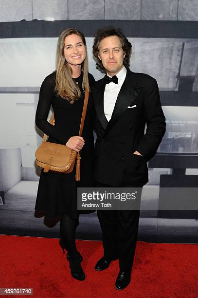 Lauren Bush Lauren and David Lauren attend The Whitney Museum Of American Art's 2014 Gala Studio Party at The Whitney Museum of American Art on...