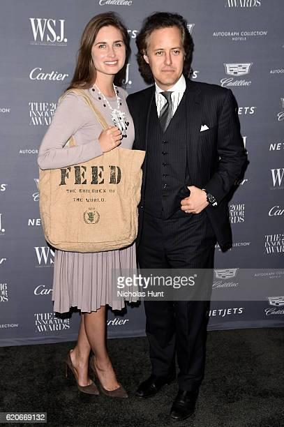 Lauren Bush Lauren and David Lauren attend the WSJ Magazine 2016 Innovator Awards at Museum of Modern Art on November 2 2016 in New York City