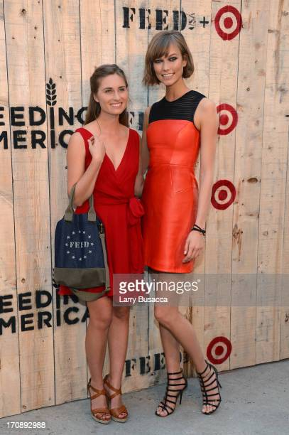 Lauren Bush Lauren and Model Karlie Kloss attend FEED USA Target launch event on June 19 2013 in New York City