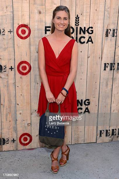 Lauren Bush Lauren attends FEED USA Target launch event on June 19 2013 in New York City
