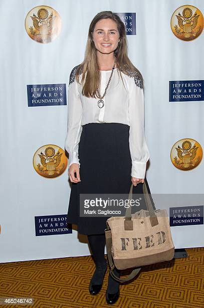 Lauren Bush Lauren attends the 2015 Jefferson Awards Foundation Ceremony at Gotham Hall on March 4 2015 in New York City