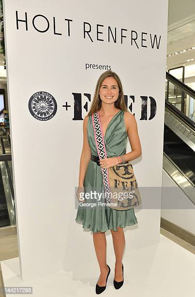 Lauren Bush Lauren attends the Lauren Bush Launch WorldWide Exclusive 'FEED' Tote Designed by Tory Burch event at Holt Renfrew Toronto on May 10 2012...