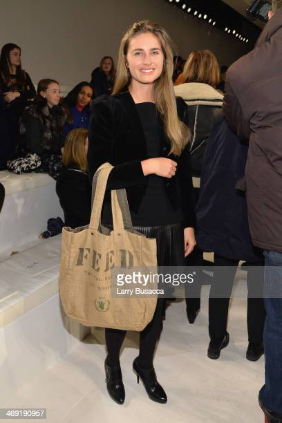 Lauren Bush Lauren attends the Ralph Lauren fashion show during MercedesBenz Fashion Week Fall 2014 at St John Center Studios on February 13 2014 in...