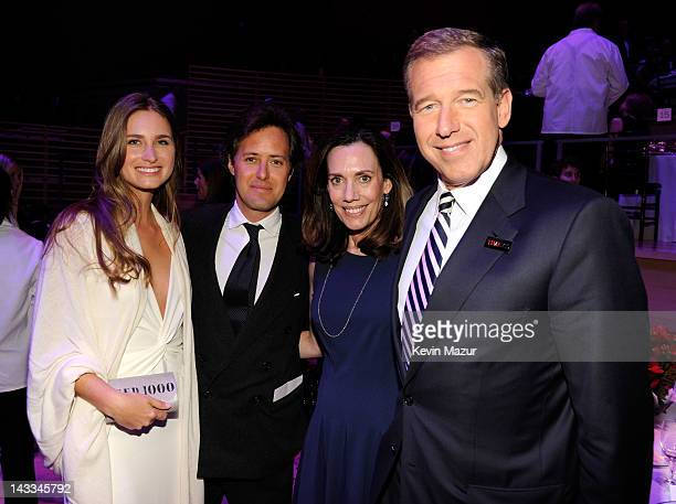Lauren Bush Lauren David Lauren Jane Stoddard Williams and Brian Williams attend the TIME 100 Gala celebrating TIME'S 100 Most Infuential People In...