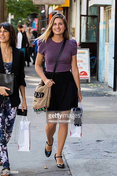 Lauren Bush Lauren is seen shopping in SoHo on October 14 2014 in New York City