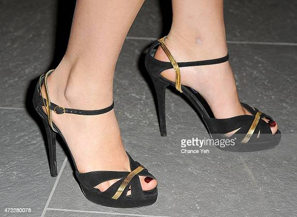 Lauren Bush Lauren, shoe detail, attends Wellness In The Schools 10th Anniversary Gala at Riverpark on May 5, 2015 in New York City.