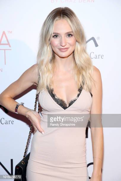 Lauren Bushnell attends Chaz Dean summer party 2018 benefiting Love is Louder on August 11 2018 in Los Angeles California