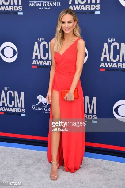 Lauren Bushnell attends the 54th Academy Of Country Music Awards at MGM Grand Hotel Casino on April 07 2019 in Las Vegas Nevada
