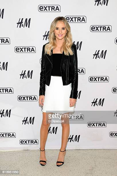 Lauren Bushnell visits Extra at their New York studios at HM in Times Square on October 11 2016 in New York City