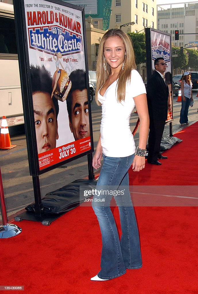 Lauren C. Mayhew during 'Harold & Kumar Go to White Castle' Los Angeles Premiere - Red Carpet at Mann Chinese Theatre in Hollywood, California, United States.