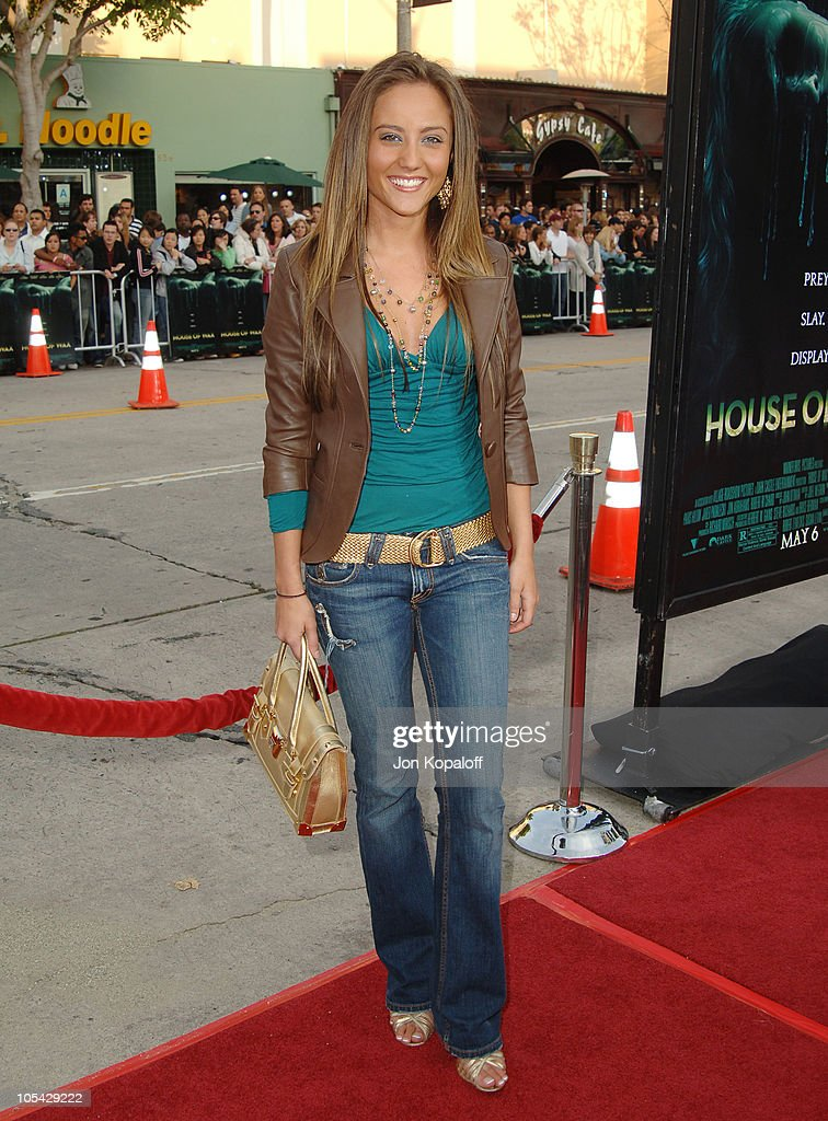 """""""House of Wax"""" Los Angeles Premiere - Outside Arrivals"""