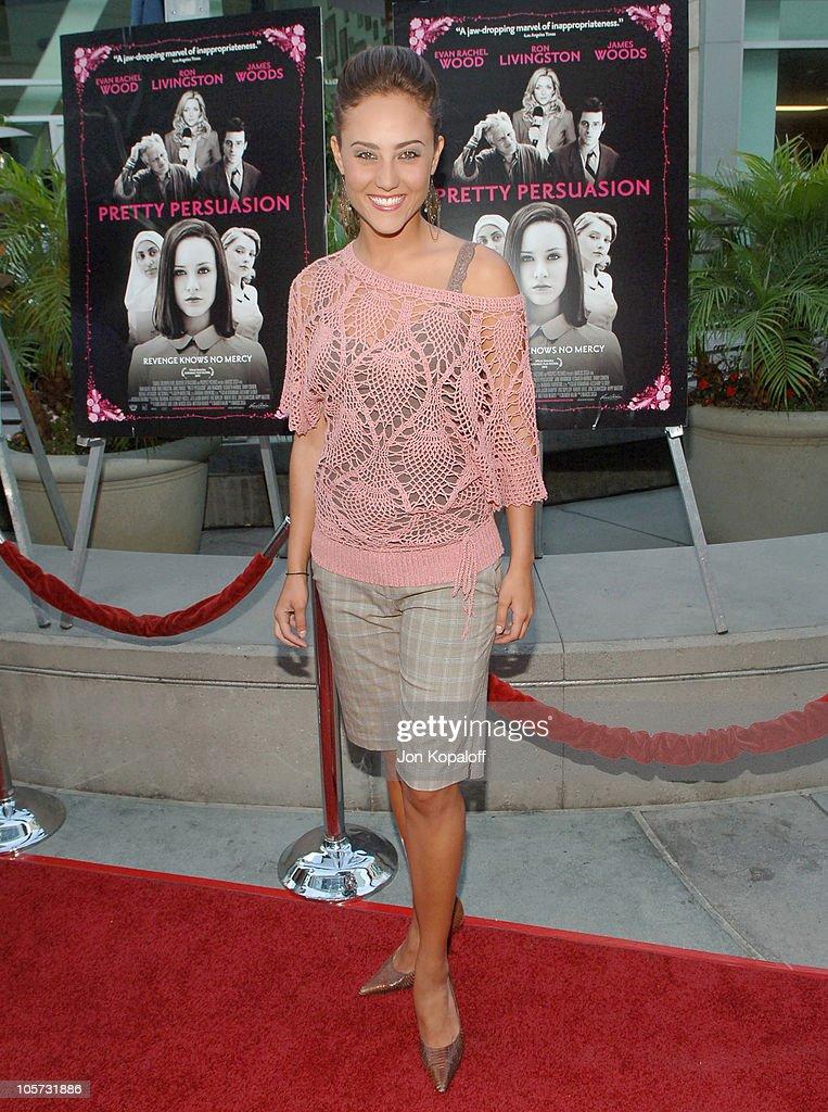 """Pretty Persuasion"" Los Angeles Premiere - Arrivals"