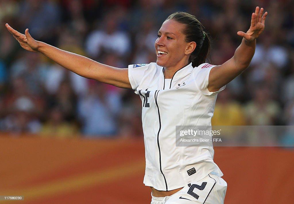 USA v Korea DPR: Group C - FIFA Women's World Cup 2011
