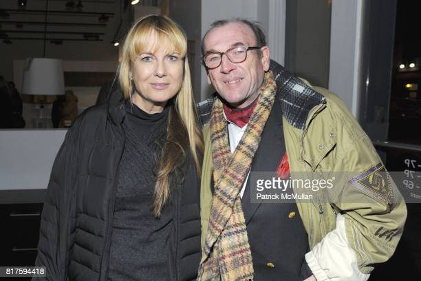 Lauren Clark Bennett and Ed Callahan attend 8TH ANNUAL BoCONCEPT/KOLDESIGN HOLIDAY PARTY at BoConcept on December 14 2010 in New York City