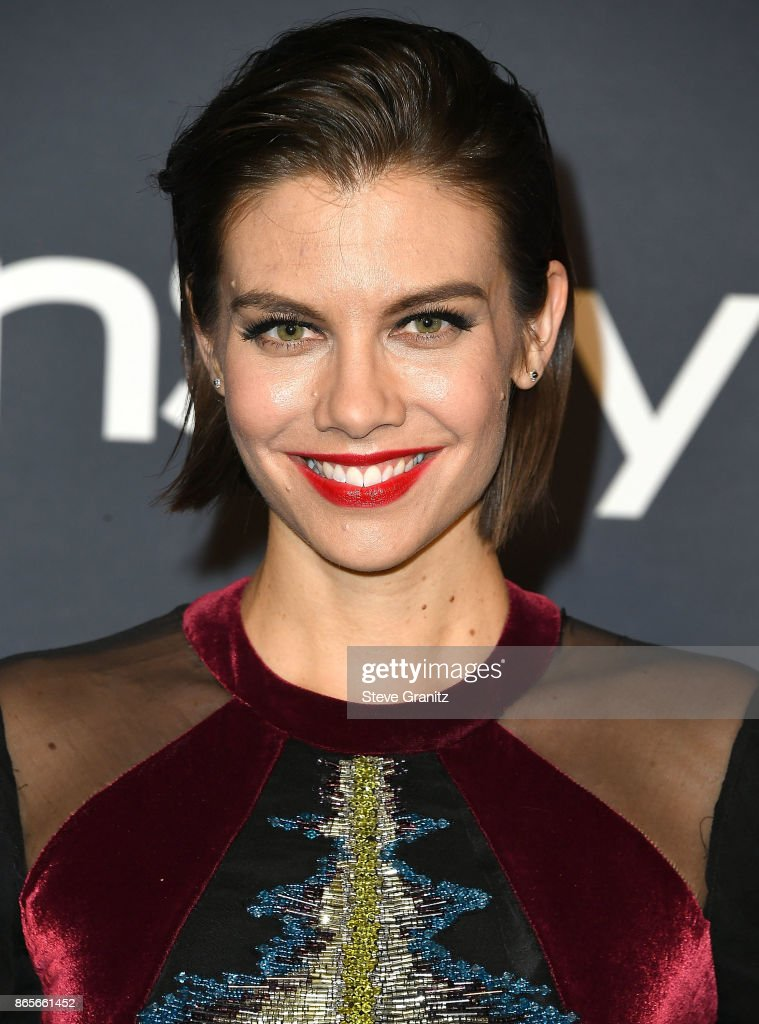 Lauren Cohan arrive at the 3rd Annual InStyle Awards at The Getty Center on October 23, 2017 in Los Angeles, California.