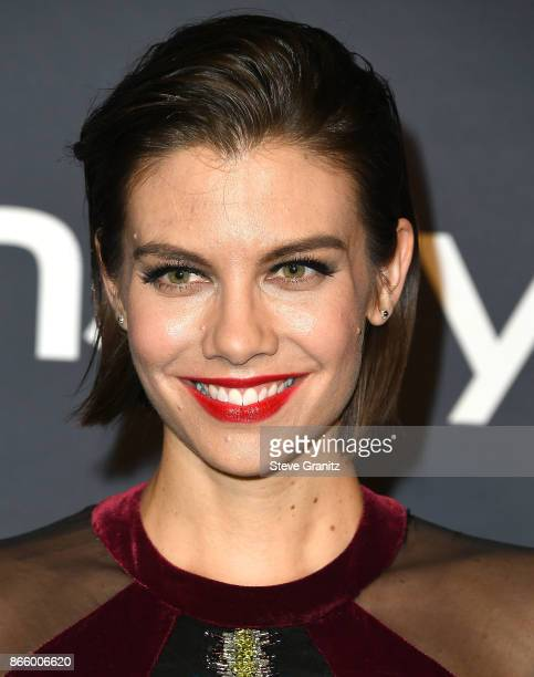 Lauren Cohan arrive at the 3rd Annual InStyle Awards at The Getty Center on October 23 2017 in Los Angeles California