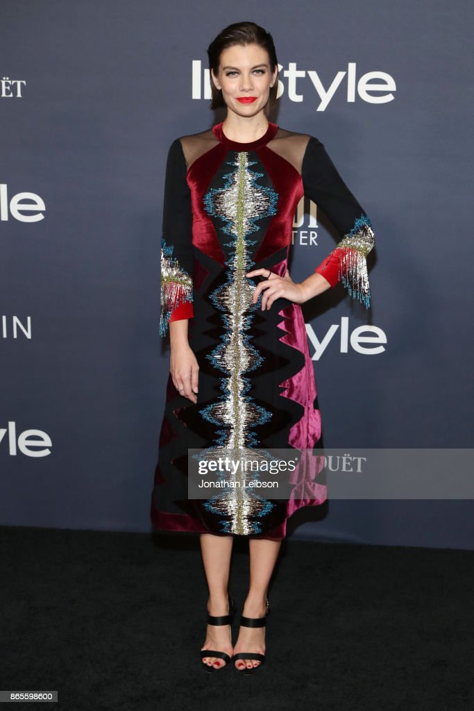 Lauren Cohan at the 2017 InStyle Awards presented in partnership with FIJI WaterAssignment at The Getty Center on October 23, 2017 in Los Angeles, California.
